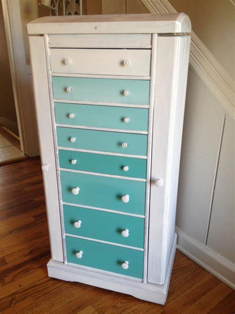 Home Made Dresser by Diy Ombre Dresser