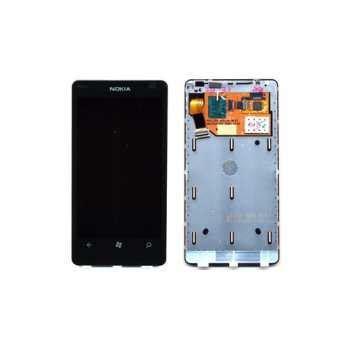 Lcd Nokia Lumia 800 Ori Fulset Cassing tela touch lcd display original nokia lumia 800 ceara informatica