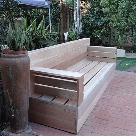 build your own couch plans home dzine home diy diy wood patio furniture