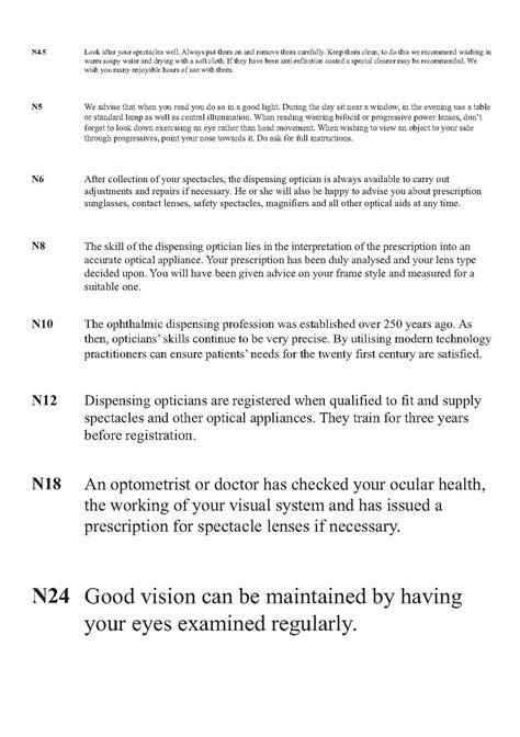 printable eye charts for near vision near vision chart near vision test card near visual
