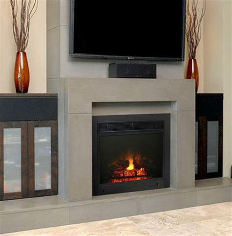 electric fireplace inserts walmart 23 quot electric fireplace insert walmart ca