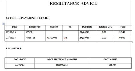 payment remittance template gse bookbinder co