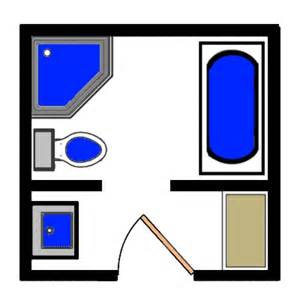 Square Bathroom Floor Plans by 15 Free Sample Bathroom Floor Plans Small To Large