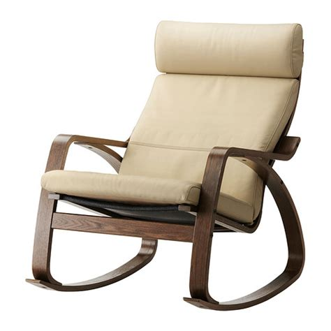 po 196 ng rocking chair glose eggshell ikea
