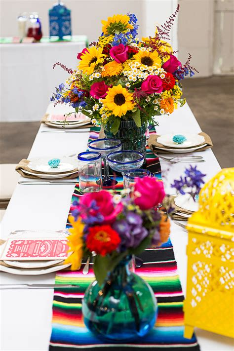 style  mexican themed table bespoke bride