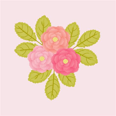 tutorial illustrator easy create peonies the quick and easy way in adobe illustrator