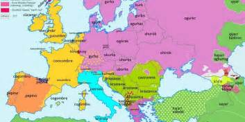 european maps showing origins of common words business