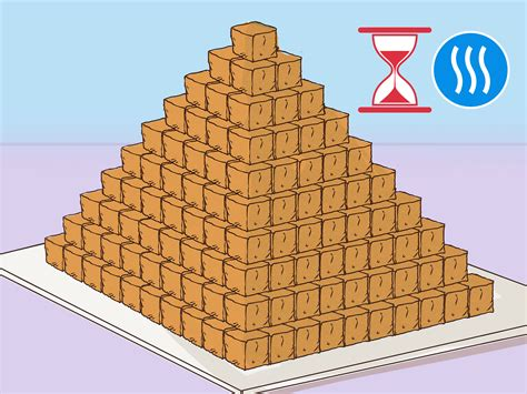 how to build a building 3 ways to build a pyramid for school wikihow