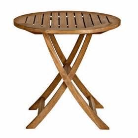 Kohls Bistro Table Cambridge Teak 30 Quot Folding Bistro Table