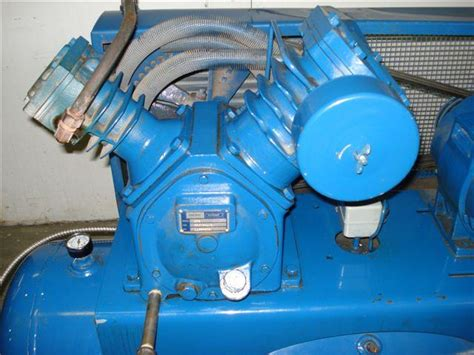 7 5 hp pacific ranger air compressor stationary air compressors 142241 for sale used
