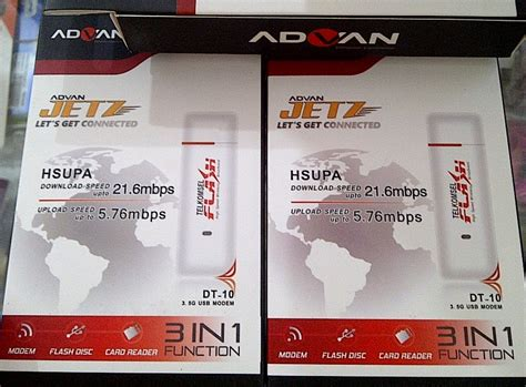 Modem Advan Jetz Flash harga modem advan jetz dt 10 telkomsel flash 187 harga modem advan jetz dt 10 telkomsel flash