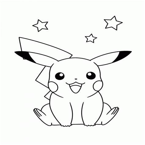 imagenes para dibujar y pintar dibujos pikachu para dibujar imprimir colorear y recortar