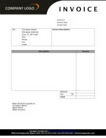 Free Printable Invoice Templates Word General Service Invoice Freewordtemplates Net