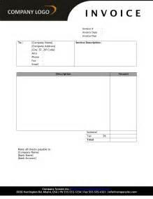 general service invoice freewordtemplates net