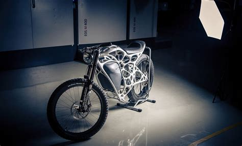light rider is the world s 3d printed motorcycle