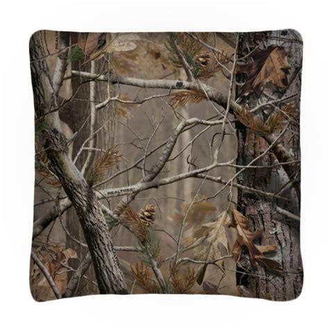 realtree all purpose camo square accent pillow