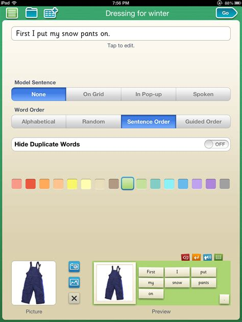 clicker app clicker sentences app ot s with apps technology