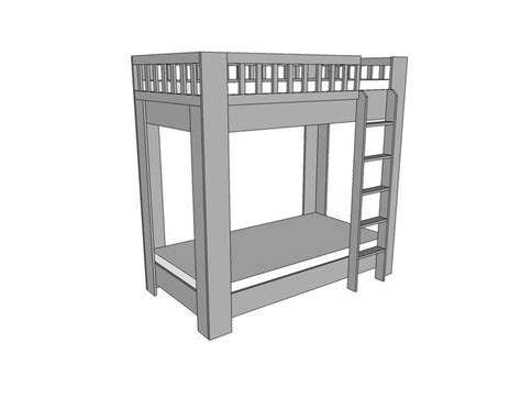 bunk bed measurements top 70 ideas about bunk bed plans on