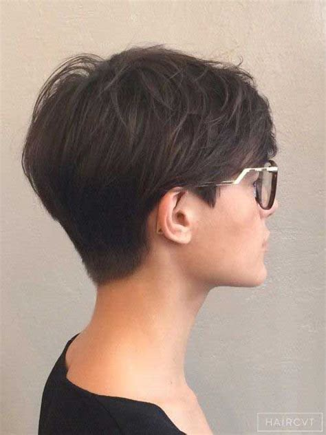 short pixie hair style with wedge in back 25 best ideas about short haircuts on pinterest pixie