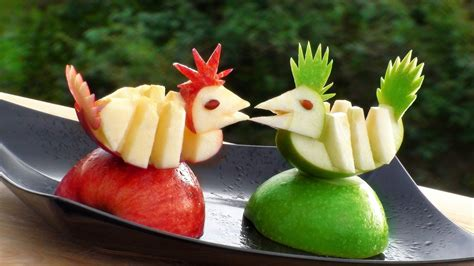 fruit decorations fruit decoration craft ideas