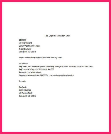 income verification letter sample ms word word excel templates