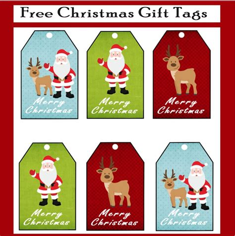 free printable gift tags from organized christmas com free printable christmas gift tags printables 4 mom