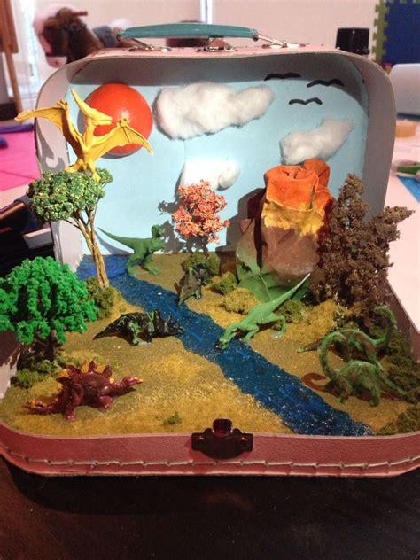 dinosaur craft projects dinosaur habitat world project project