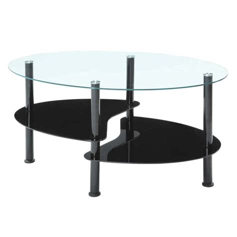 innovex crescent series coffee table and 2 end table set