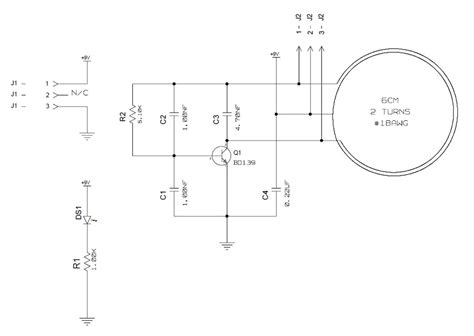 wireless power circuit diagram wireless power transmitter and receiver