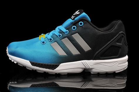 adidas cheap running shoes cheap adidas zx flux quot reflective quot blue black running shoes
