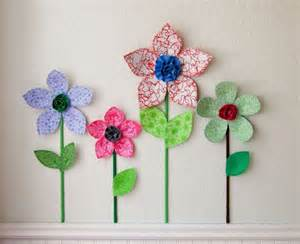 3d Flower Wall Decor by 3d Flower Wall Decor Room Wall Decal Fabric Wall