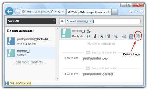 Search Email Id In Yahoo View Yahoo Messenger Chat History Archive Directly Raymond Cc