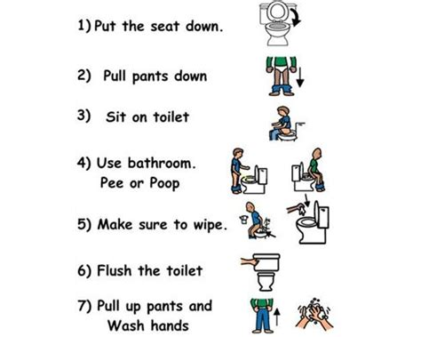 using the bathroom social story 17 best images about potty training on pinterest toilets
