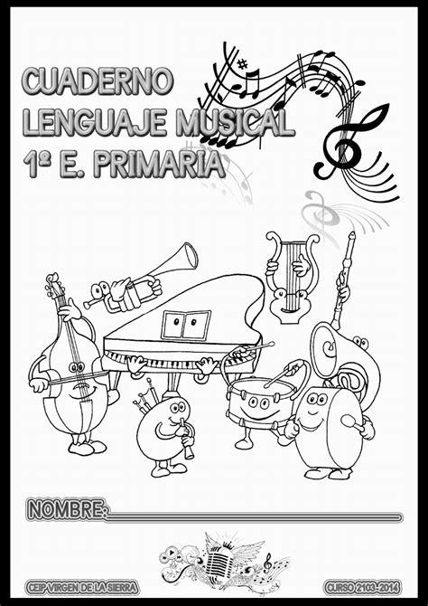 Cuadernillo de Lenguaje Musical - 1º A | Actividades de