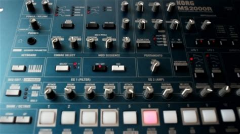 synthesizer korg ms2000r free footage in mp4 avc format for free download 26 69mb