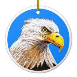eagle christmas tree ornaments zazzle
