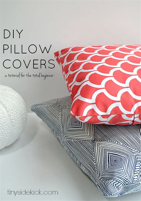 How To Make A Pillow Cover by How To Make An Envelope Pillow Cover