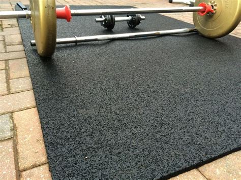 rubber gym mat commercial flooring mm extra thick