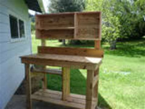 cedar potting bench plans cedar potting bench by woodreaper lumberjocks com