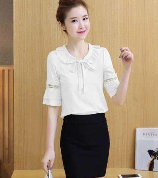 Blouse Nura Blouse Simple Fashion Promo Blouse Murah Sw blouse putih wanita cantik simple 2017 model terbaru