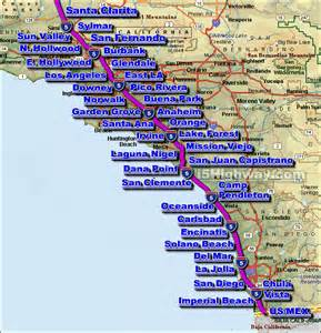 california traffic conditions map southern california freeway traffic