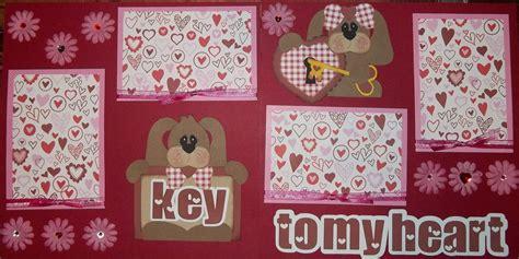 scrapbook layout valentine the paper princess valentine s day scrapbook layouts