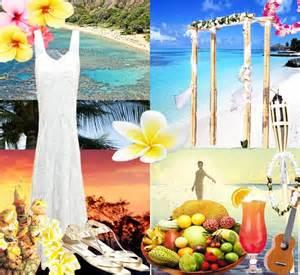 hawaiian wedding ideas hawaiian wedding theme