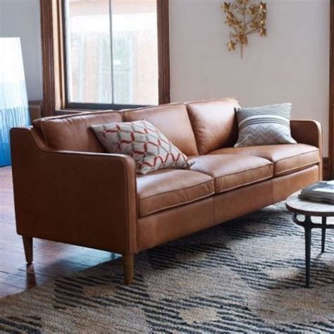 Comfy Loveseat Sofa Soft Leather Sofas For A Maximum Comfy And Stylish Living
