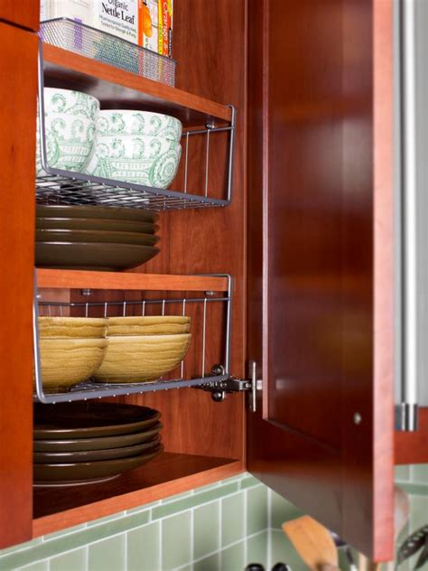 Wire Shelving For Kitchen Cabinets Photo Page Hgtv