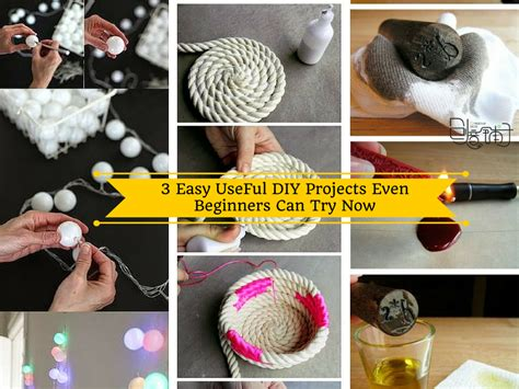 happy home diy project tutorials 3 easy useful diy projects even beginners try now