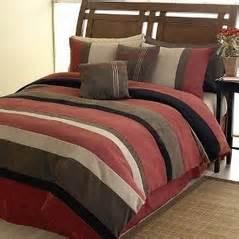 Brick red black chocolate and camel jacaranda striped microsuede 6