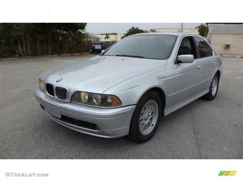 2001 aspen silver metallic bmw 5 series 525i sedan