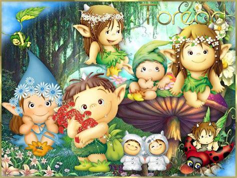 imagenes de hadas verdes dibujos infantiles de hongos con duendes y hadas buscar