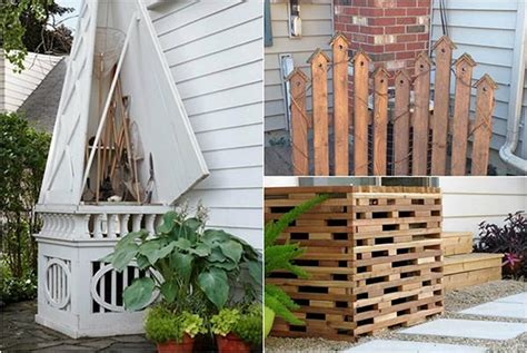14 creative ways to hide your air conditioner unit home